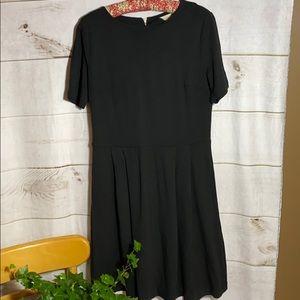Ann Taylor Loft; little black dress; 10